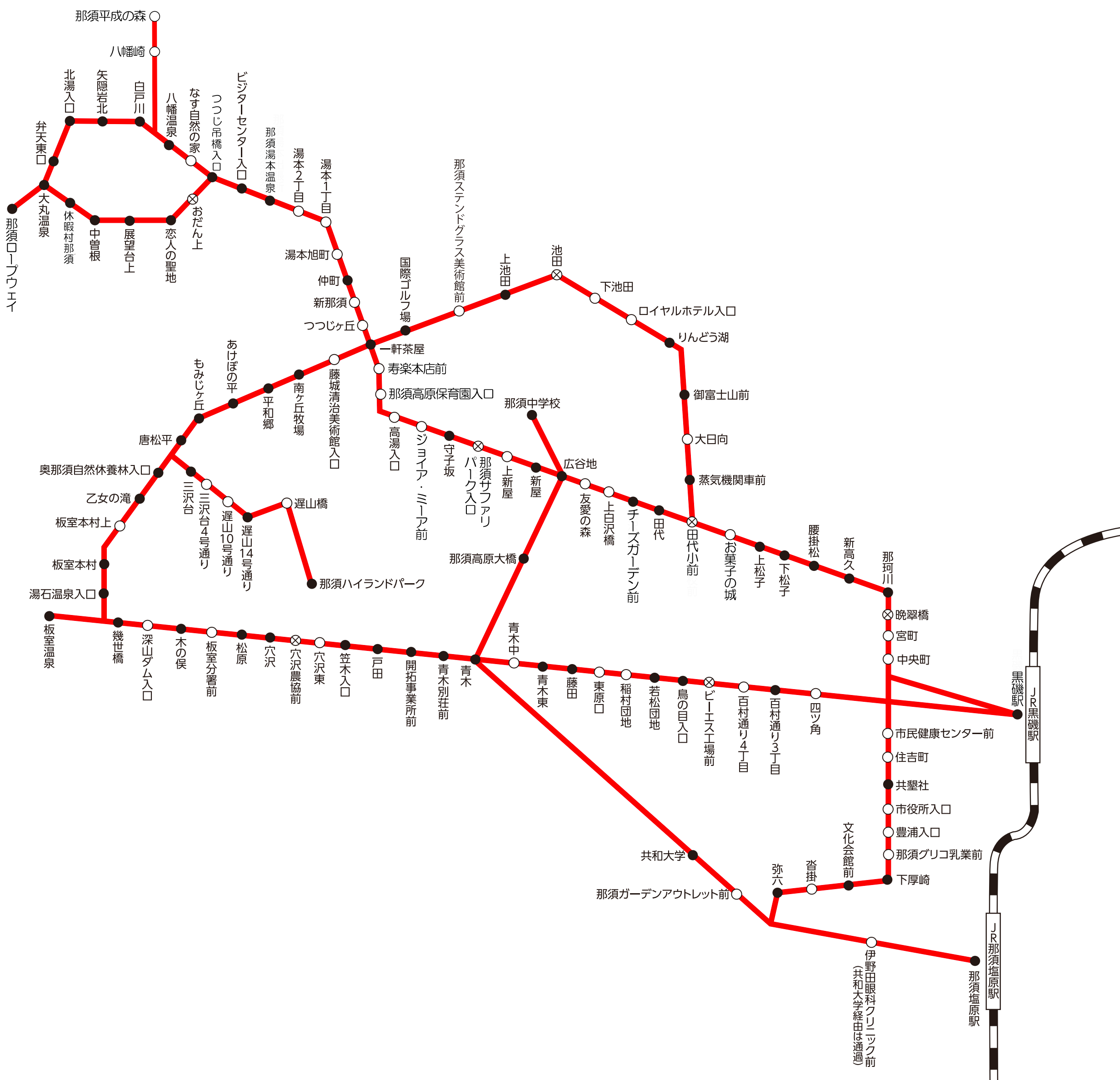 東野交通 板室線