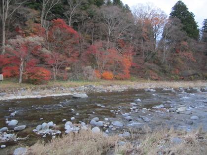 塩原温泉 『紅葉も下に下りてきました』