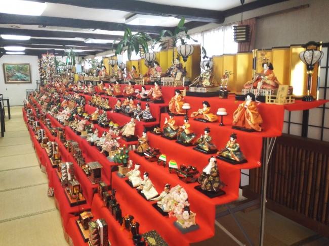 奥那須大正村幸乃湯温泉 雛祭り
