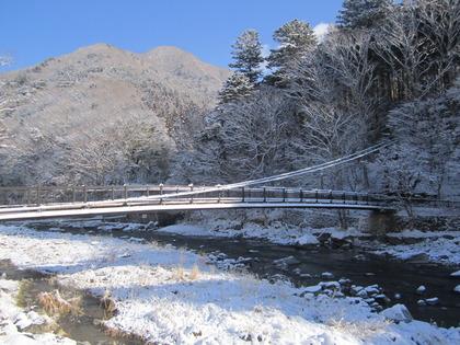 塩原温泉 『綺麗な雪景色』