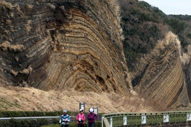 地球の地学史に「チバニアン」登場で盛り上がりましたが、一度は見たい日本の地層ベスト10の中に、塩原の木の葉化石が出土する地層もランクインしています!