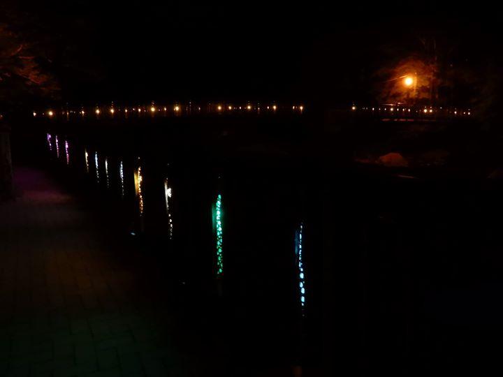 DC(デスティネーションキャンペーン)特別企画、通常冬に行われている「塩原竹取物語」の美しい竹灯も、見ることができるは明日6/30まで。