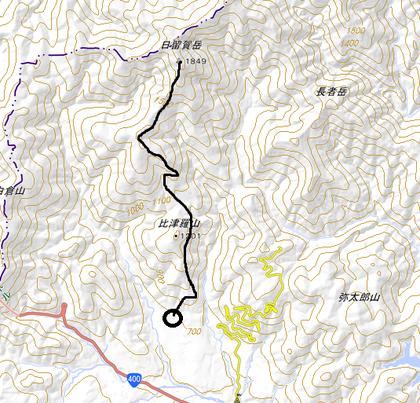 塩原温泉 『日留賀岳』 登山してきました