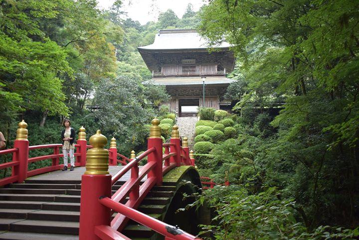 今日のバスツアーは少し足を延ばして雲巌寺と那須神社へ