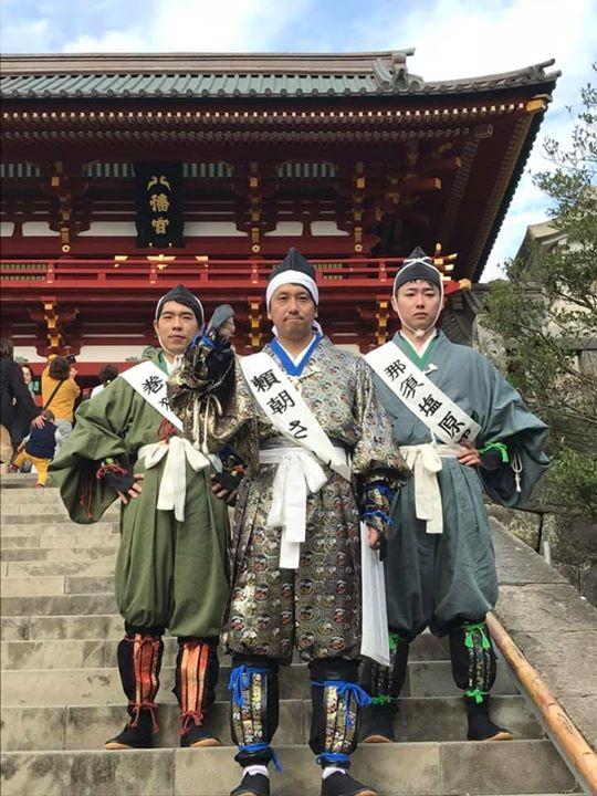 鎌倉の鶴岡八幡宮にて採火式を行ってきました!有難ーい火をお譲りいただきましたので、大切に持ち帰り、お祭りで活用いたします!皆さん、この火で作った巻狩鍋を是非食べに来てください!
